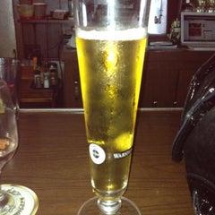 Photo taken at Scharfs German Restaurant und Bar by Brittany J. on 8/24/2012