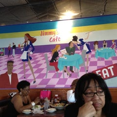 Photo taken at Jimmy's Cafe Restaurant by Anise A. on 5/20/2012