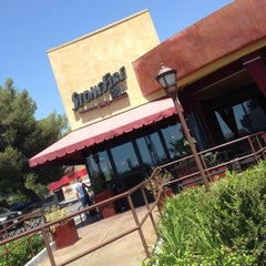 Photo taken at Stonefire Grill by Shelby B. on 8/18/2012