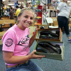 Photo taken at The Shoe Box by Wendy S. on 3/30/2012
