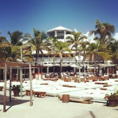 Photo taken at Nikki Beach Miami by Luca F. on 7/31/2012