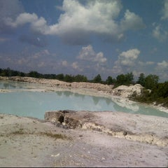 Photo taken at Tambang Kaolin, Belitung by shella L. on 4/29/2012