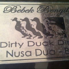 Photo taken at Bebek Bengil (Dirty Duck Diner) by Heidy A. on 8/20/2012