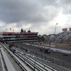 Photo taken at AAA Auto Club Raceway by Mike H. on 2/11/2012