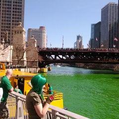 Photo taken at Chicago Riverwalk by Вадим Т. on 3/17/2012