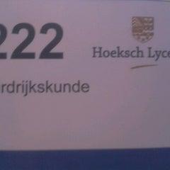 Photo taken at Hoeksch Lyceum by Sven W. on 2/14/2012