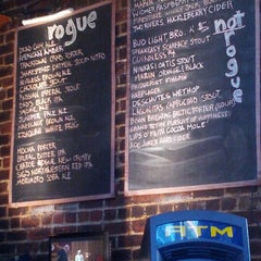 Photo taken at Rogue Ales Public House by Carl J. on 6/19/2012