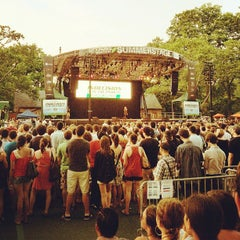 Photo taken at Central Park SummerStage by Chris S. on 6/21/2012