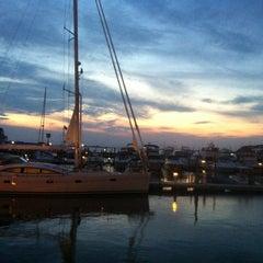 Photo taken at Wave Seafood Kitchen by John B. on 7/4/2012