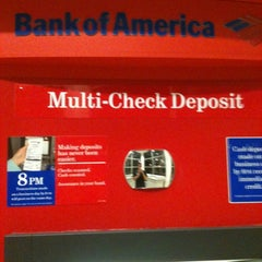 Photo taken at Bank Of America by Justin on 8/9/2012