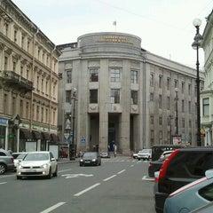 Photo taken at СПГУТД (Санкт-Петербургский государственный университет технологии и дизайна) by Valenti 🎀 on 7/31/2012