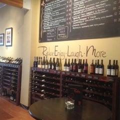 Photo taken at Relm Wine Bistro by Matthew C. on 4/1/2012