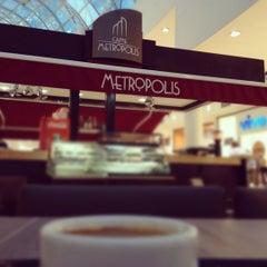 Photo taken at Caffe Metropolis by Ravate on 2/9/2012