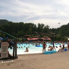 Photo taken at Dollywood's Splash Country by Joan S. on 8/5/2011