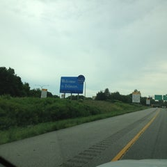Photo taken at Delaware / Pennsylvania State Line by Orlando G. on 8/1/2012