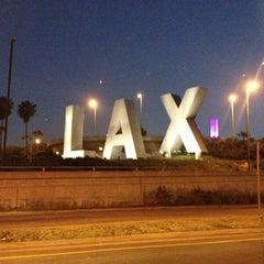 Photo taken at LAX Sign by Kalaya'an M. on 6/11/2012