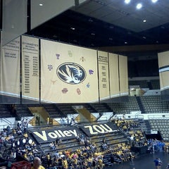 Photo taken at Hearnes Center by Andreas H. on 10/12/2011