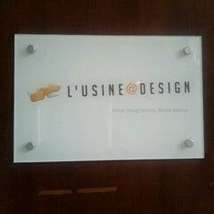 Photo taken at L'Usine à Design.com HQ by Roch D. on 5/19/2011