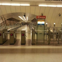Photo taken at Metro Manquehue by Jonathan F. on 2/25/2012