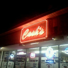 Photo taken at Cash's Liquors by Marie O. on 10/16/2011