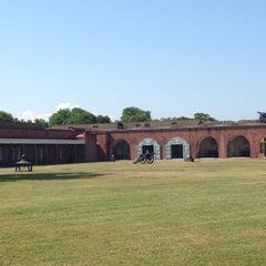 Photo taken at Fort Pulaski by Carmen Z. on 4/29/2012
