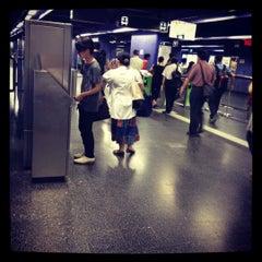 Photo taken at MTR Shau Kei Wan Station 筲箕灣站 by Christer L. on 6/2/2012
