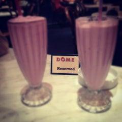 Photo taken at Dôme Café by Eden on 9/6/2012