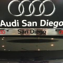 Photo taken at Audi San Diego by Scott L. on 4/27/2012