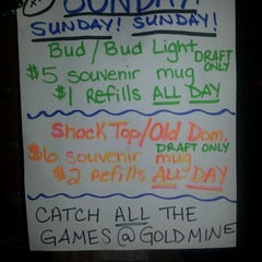 Photo taken at Gold Mine Saloon by Carrie L. on 9/9/2012