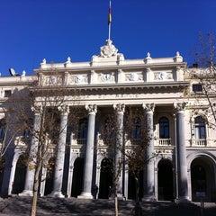 Photo taken at Bolsa de Madrid by Javier V. on 12/27/2011