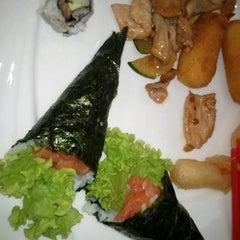 Photo taken at Wok Sushi by Dario C. on 7/21/2011