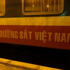 Photo taken at Ga Hà Nội (Hanoi Station) by Phạm Ngọc H. on 12/22/2011