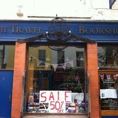 Photo taken at The Travel Bookshop by Chiara on 9/9/2011