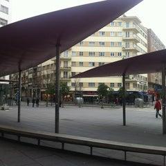 Photo taken at Praza Roxa by Cristian B. on 1/19/2012