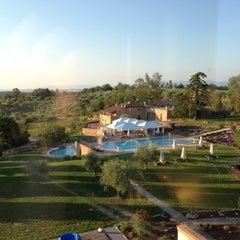 Photo taken at Poggio Alla Sala Resort Montepulciano by Giulia C. on 6/3/2012