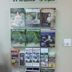 Photo taken at Tallahassee Visitor Center by Allen T. on 5/16/2012