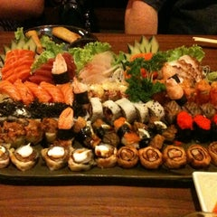 Photo taken at Koban Sushi by Gisela G. on 12/14/2011