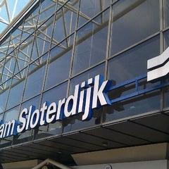 Photo taken at Station Amsterdam Sloterdijk by Emiel H. on 9/27/2011