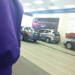 Photo taken at Honda of Danbury by Kendra B. on 12/1/2011