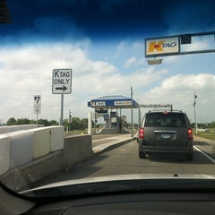 Photo taken at Kansas Turnpike by Josh P. on 5/2/2012