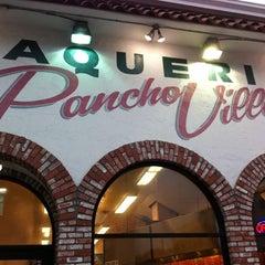 Photo taken at Pancho Villa Taqueria by Sean G. on 2/16/2011