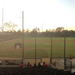 Photo taken at Dedeaux Field by Wes A. on 3/10/2012
