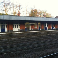 Photo taken at Hitchin Railway Station (HIT) by Kat M. on 4/10/2012