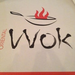 Photo taken at Oriental wok by Enrique G. on 5/6/2012