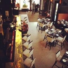 Photo taken at Seven Steakhouse Sushi Ultralounge &  Skybar by Jenny P. on 7/14/2012