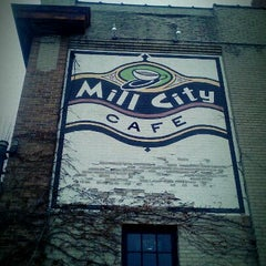 Photo taken at Mill City Café by mike v. on 12/3/2011