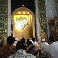 Photo taken at Masjid Nasional Al-Akbar by pandam on 6/22/2012