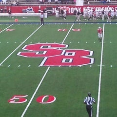 Photo taken at Kenneth P. LaValle Stadium by Raymond L. on 9/17/2011