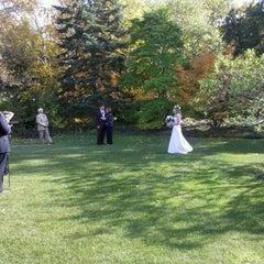 Photo taken at Paine Art Center & Gardens by Ezra A. on 10/7/2011