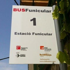 Photo taken at Funicular de Gelida: Estació Superior by Daniel G. on 7/27/2012